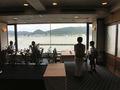 関門海峡が見渡せるレストラン「ブルーフォンセ」