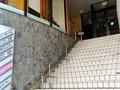 ホテル中央階段