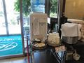 コーヒーその他、サービス満点!