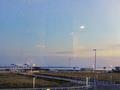 館内から見る知多半島と伊勢湾