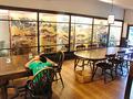 喫茶室のレイアウト