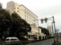 ホテル前・幹線道路