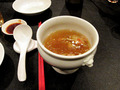 コース料理のスープ