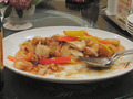 2階・中国菜館の海老料理