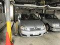 上下2段式地下駐車場