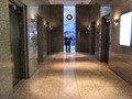 高機能なエレベータホール