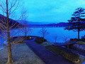 悠久の水月湖の静けさを楽しむ