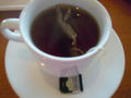 アールグレイの紅茶です。