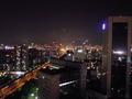 街側の夜景です。