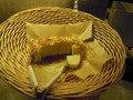 やわらかいパンでした。