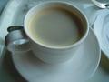 朝は深いりコーヒーでした。