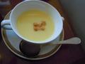 ポタージュスープです。