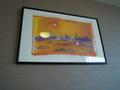 お部屋に飾られた絵です。