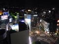 渋谷駅側の夜景です。