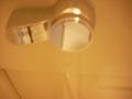 トイレのレバーは少し硬めでした。