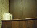 トイレの棚です。