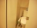 トイレの中の感じです。