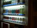 別棟のジュースの販売機です。