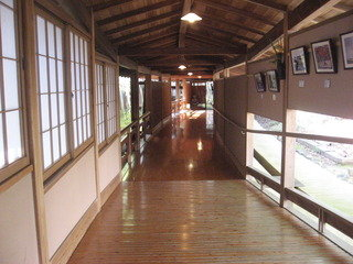湯殿への渡り廊下