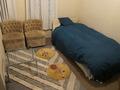 トリプルのシングルユースでその中のベッド1つ