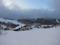 ホテルから最寄のスキー場の様子