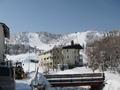 ホテル直近のスキー場