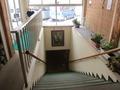 2F入口からみた階段の様子