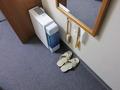 部屋の装備・備品の様子