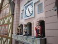 ホテル内レストランの時計台