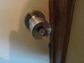 部屋の鍵の様子
