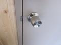 ドアのロックの様子