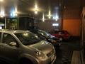 ホテル正面の駐車場の様子