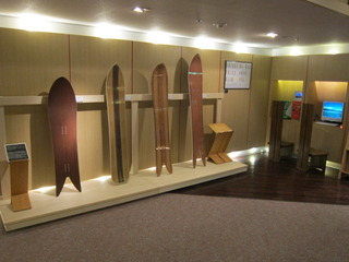 デザインスノボーの展示