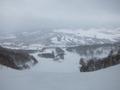 ペンションから最寄のスキー場の様子