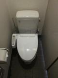 1F共同トイレの様子