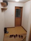 宿泊棟の玄関の様子