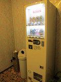 各階エレベータホールにある自販機の様子