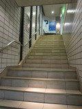 ホテル階段の様子