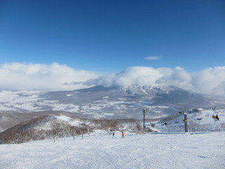 ペンションから最寄のスキー場