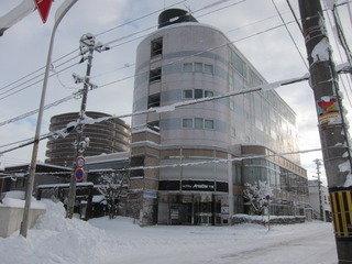 ホテル外観(朝景)