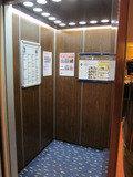 エレベーターの様子