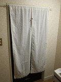 部屋のカーテンの様子