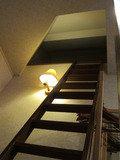 2Fロフトへの階段の様子