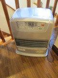 3Fロビーにある暖房機の様子