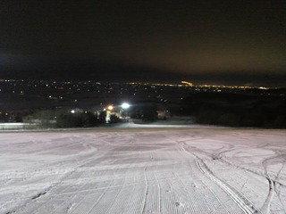 ホテル近隣のスキー場の様子