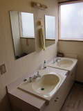 2F共同洗面所の様子