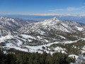 ホテル最寄のスキー場からの景色