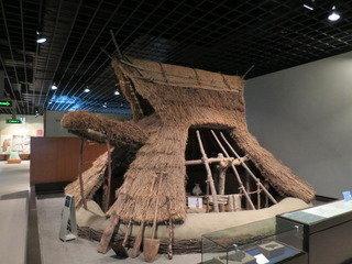 宿近隣にある長野市立博物館の様子