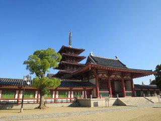 四天王寺の様子