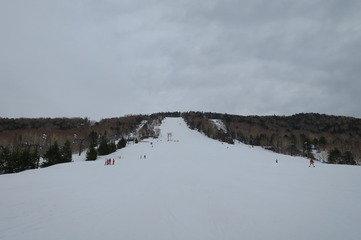 宿から徒歩1分の所にある高天原スキー場